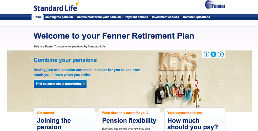 Information on your pension from Standard Life